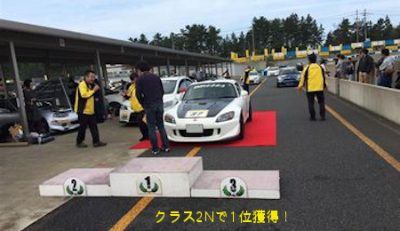 DIREZZA CHALLENGE 2015 in タカスサーキット